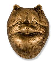 Pomeranian Door Knocker, Micheal Healy MHDOG13