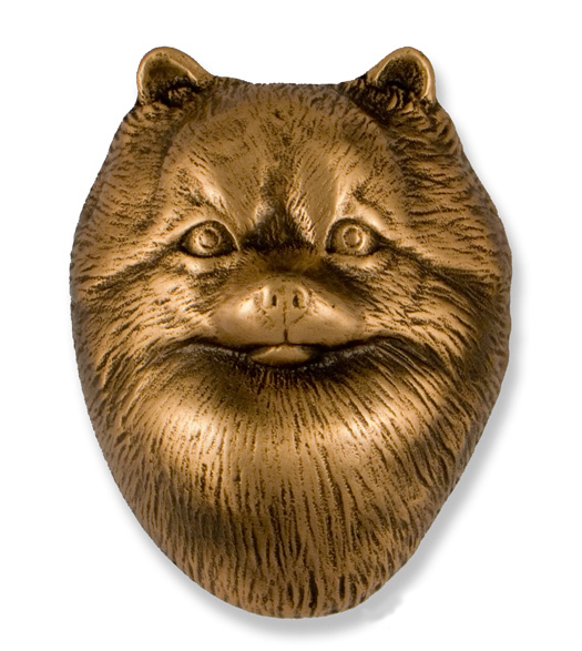 Pomeranian Premium Size Door Knocker