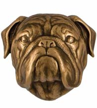 Bulldog Door Knocker, Micheal Healy MHCDOG14
