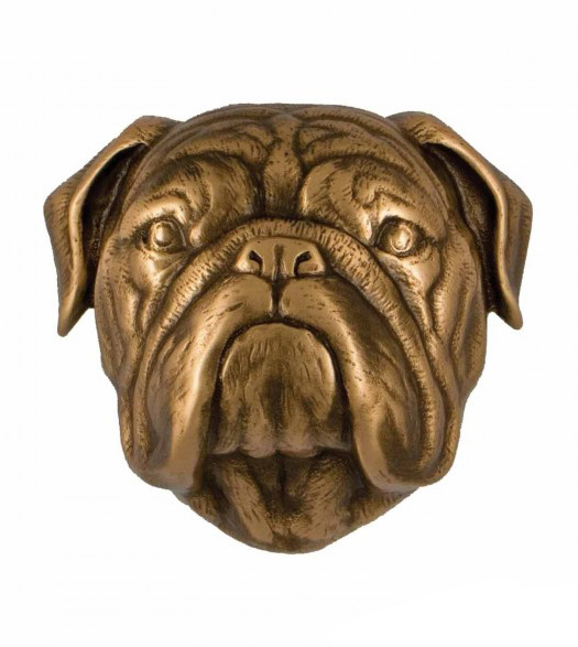 Bulldog Premium Size Door Knocker