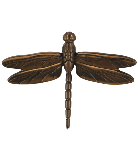 Standard Oil Bronze Dragonfly Door Knocker