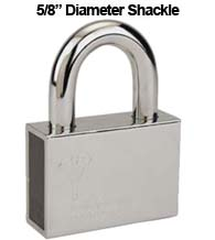 Mul-T-Lock Extra Heavy Duty Padlock with 5/8 Diameter Shackle