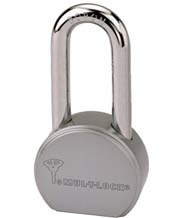 Mul-T-Lock Round Body Padlock With Long 7/16 Shackle