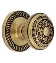 Newport Rosette with Windsor Knob, Grandeur NEWWIN