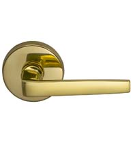 Modern Chic Lever with Round Rose, Omnia 36/00