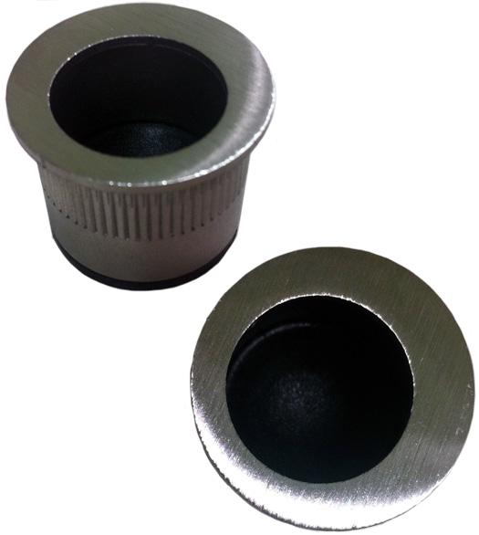 Satin Stainless Steel Fingertip Edge Pull