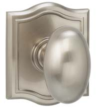 Fancy Solid Brass Egg Knob, Omnia 434AR