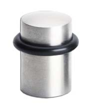 Modern 1-3/4 inch Stainless Steel Door Stop, Omnia 7000-US32D