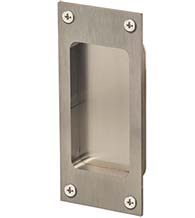 Satin Stainless Steel 5 Inch Flush Pull, Omnia 7012/0