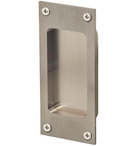 Satin Stainless Steel 5 Inch Flush Pull Doorware Com