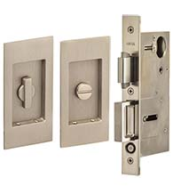 4-1/2 Inch Pocket Door Privacy Set, Omnia 7036/L
