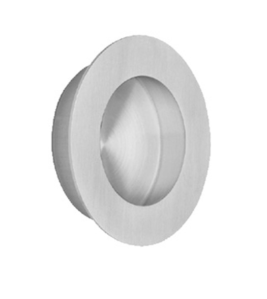 Stainless Steel 2-9/16 Inch Round Flush Pull
