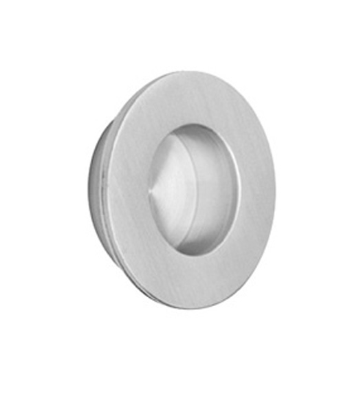 1-3/8 Inch Stainless Steel Round Flush Pull