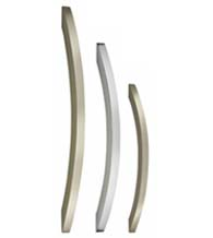 Ultra Sleek Cabinet Pull, Omnia 9007