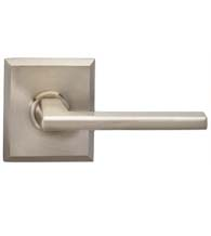 Modern Lever with Rectangular Rose, Omnia 925RT