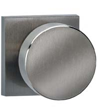 Modern Knob with Square Rose, Omnia 935SQ