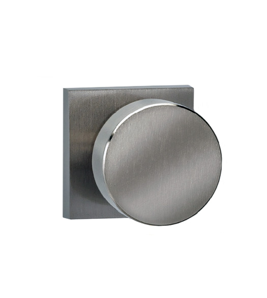 Modern Knob With Square Rose Omnia 935sq Doorware Com