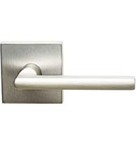 Contemporary Lever with Square Rose, Omnia 943S/00