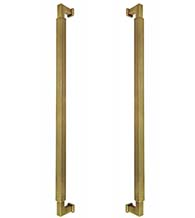 Back-to-Back Reed Door Pulls, Pair, Omnia BTB-9031P