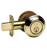Traditional Double Cylinder Deadbolt, Omnia D0806TAC