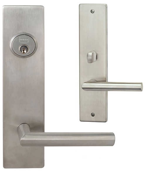 Modern Mortise Lock Handleset