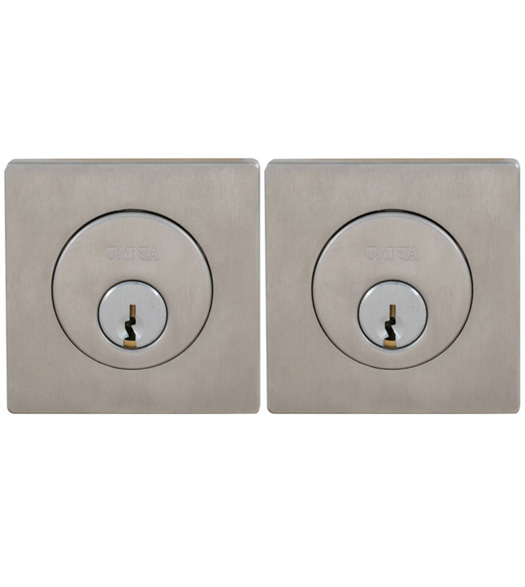 Square Double Cylinder Deadbolt