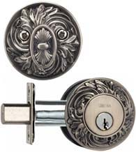 Single Cylinder Ornate Deadbolt, Omnia FLORDB