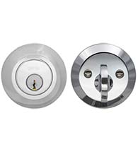 Modern Single Cylinder Door Deadbolt, Omnia MODDB