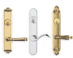 Omnia Narrow Backset Mortise Locksets