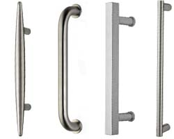 Omnia Stainless Steel Door Pulls