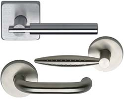 Omnia Stainless Steel Levers
