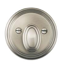 Traditional Round Single Cylinder Deadbolt, Omnia TRADDB