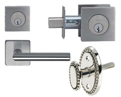 Omnia Deadbolts and Privacy Bolts