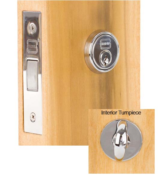 Modern Mortise Deadbolt