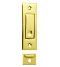 Sliding Pocket Door Jamb Bolt, Deltana PDB42