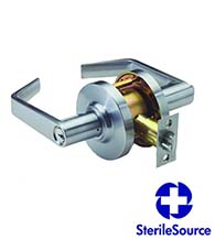 Antimicrobial Commercial Standard Duty Grade 2 Door Lever, PDQ SD-PHL-AM