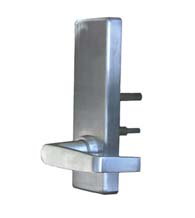 Wide Escutcheon Plate Passage Lever for Panic Device, PDQ 4-EW-14-PHL