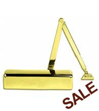 Grade 1 Polished Brass Door Closer, PDQ 5101-BCPA-605