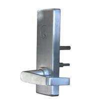 Wide Escutcheon Plate Night Latch Lever for Panic Device, PDQ 6-EW-09-PHL