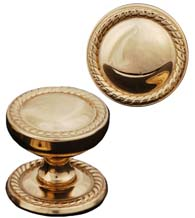Half Round Rope Cabinet Knob, RK International CK-1217