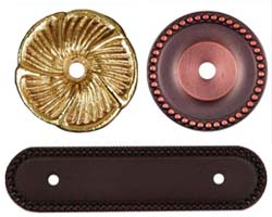 RK International Cabinet Knob and Pull Rosettes