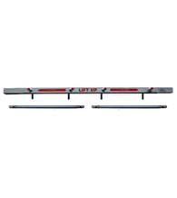 60-inch Outswing Uneven Double Door Security Door Bars, ESI-SB-01-3260