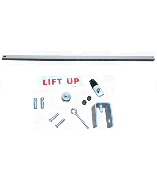 Exit Security Bars 48 Inch Inswing Metal Door
