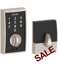 Century Touchscreen Deadbolt, Schlage BE375-CEN