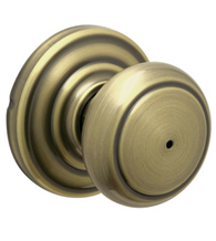 Andover Door Knob, Schlage F-AND
