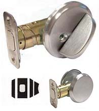 Commercial One-Sided Deadbolt With Exterior Trim, Schlage B581