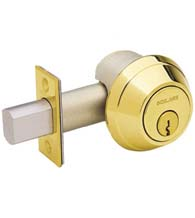 Heavy Duty One Sided Deadbolt, Schlage B664P