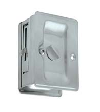 Double Thumb Turn Pocket Door Lock, SDLLA325