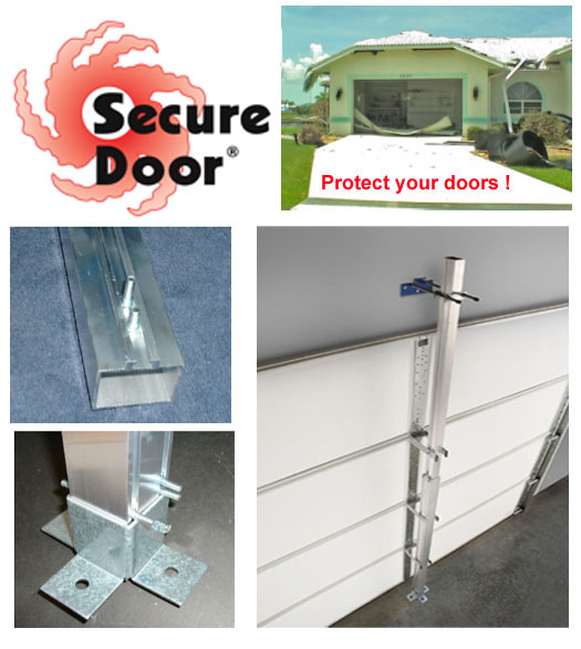 garage door braceSecure Door Residential 7Foot Garage Door Hurricane Brace