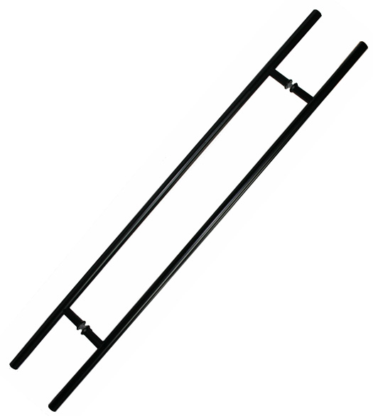 30 Inch Glass Door Ladder Pulls Pair Sgs Sdh 018hl